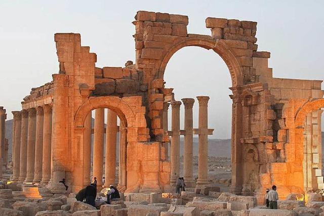 Syrien: Satellitenbilder zeigen Zerstörung von Tempel