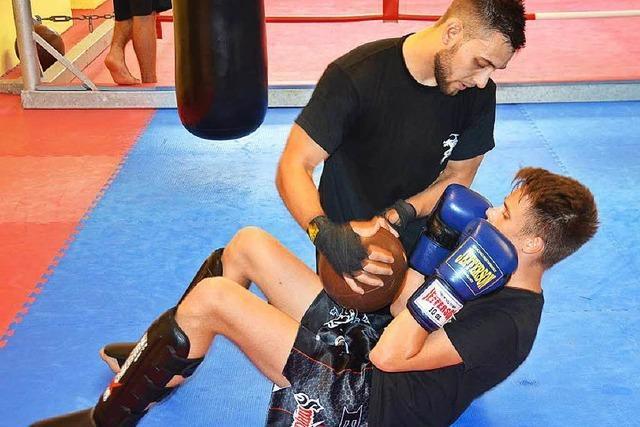 Kickboxer Moritz Treffler – mit 16 schon Weltmeister