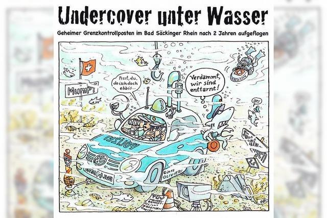 Undercover unter Wasser