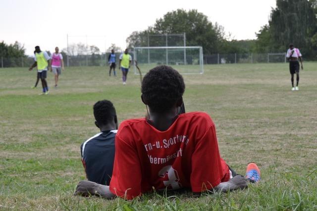 Wie junge Männer aus Gambia und Eritrea in Müllheim leben