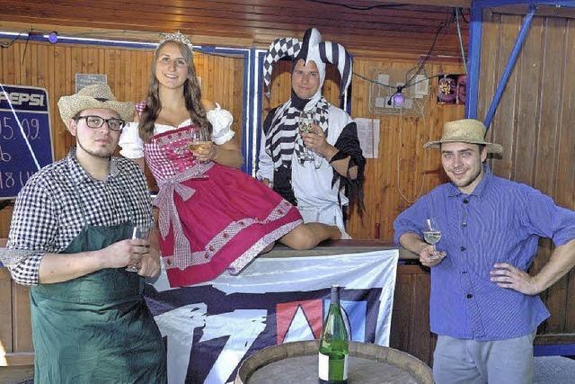 Alternatives Weinfest des AJZ in Wyhl