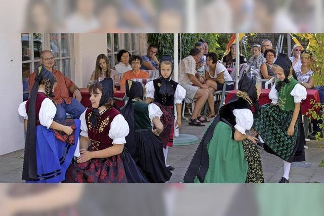Traditionelle Volkstänze