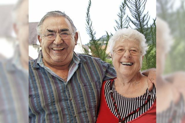 Jung verliebt, verlobt und seit 50 Jahren verheiratet