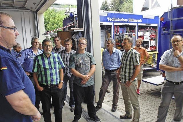 THW ist auch in der Schweiz aktiv