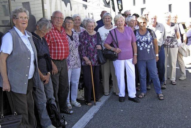 Reiselustige Senioren