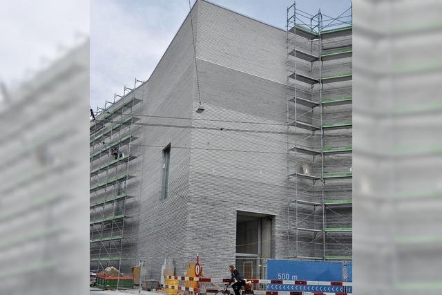 Erweiterung des Kunstmuseums Basel vor Abschluss