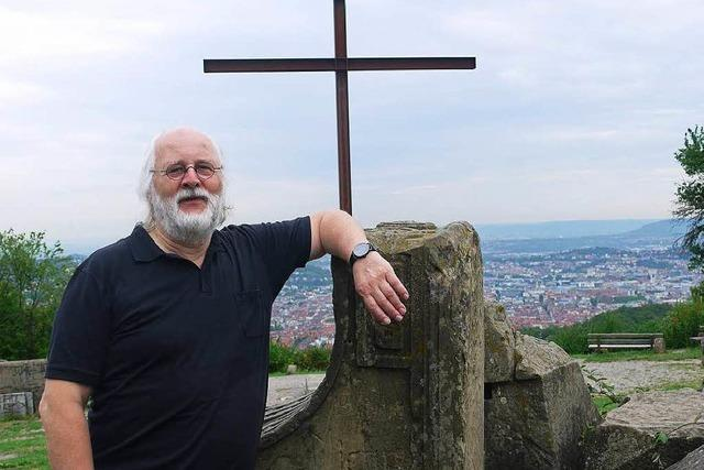 Stuttgarts zweithöchster Berg besteht aus Weltkriegsschutt
