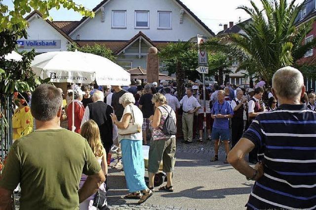 Wein aus dem Brunnen: Das Malterdinger Weinfest