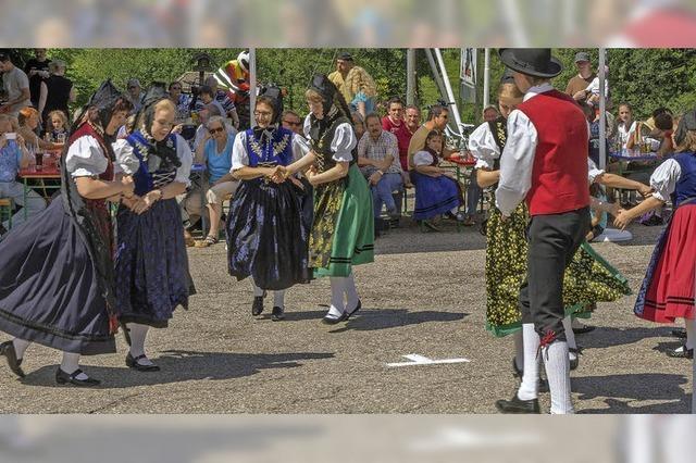 Volkstanzgruppe in Grafenhausen