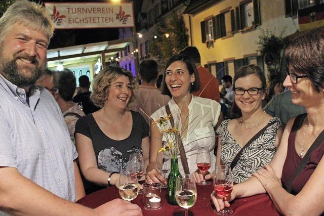 Weinfest im Wein- und Gemüsedorf Eichstetten