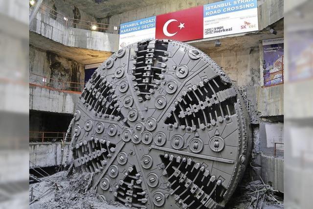Durchbruch im Bosporus-Tunnel