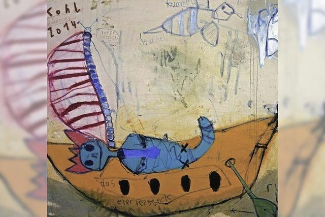 Kettensägenkunst, Malerei und Comic