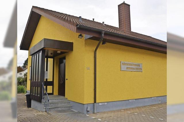 Weiler Gemeinde der Zeugen Jehovas verkauft den Königreichssaal