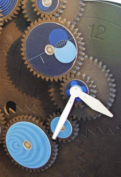 Uhrwerk aus vielen Zahnrädern  | Foto: Sonja Zellmann