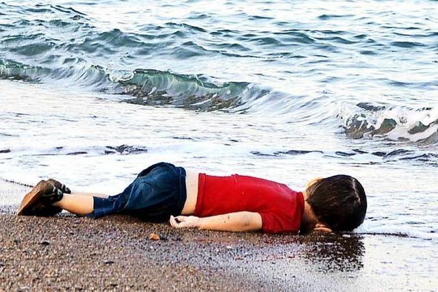 Wie ein Bild zum Symbol der Flüchtlingskrise wird