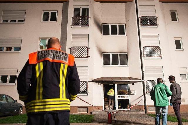 Brand in hessischem Asylheim – ein Schwerverletzter