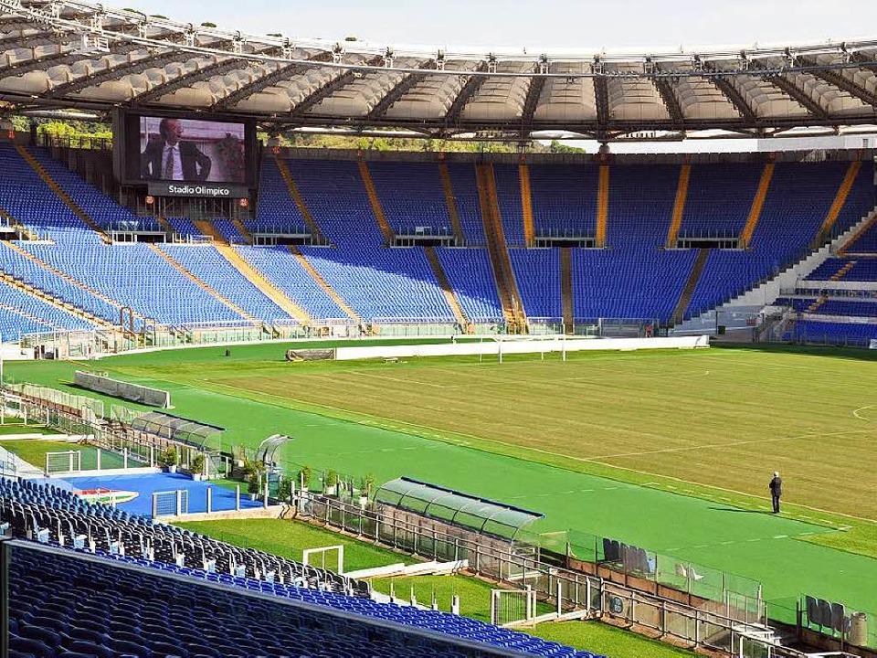 Im Stadio Olimpico in Rom wurde Franz ...r der Nationalmannschaft Weltmeister.   | Foto: BR