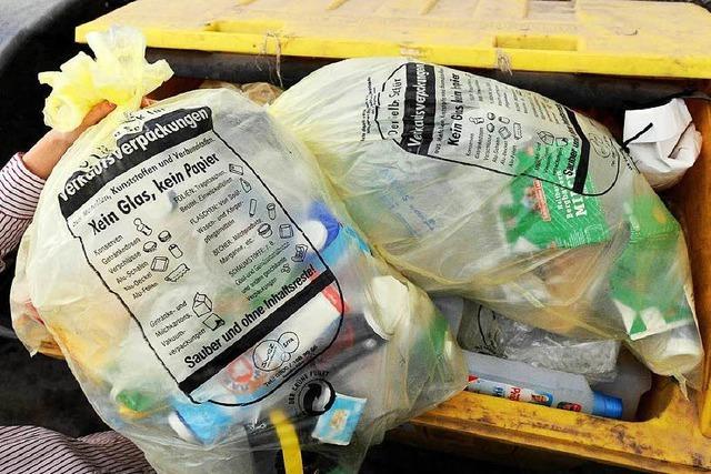 Firma recycelt 80.000 Tonnen Gelbe Säcke auf dem Südwesten