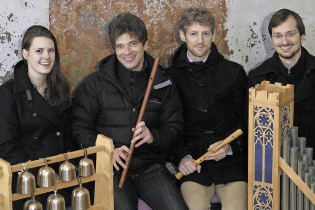Das Ensemble Nusmido spielt Chormusik des Mittelalters