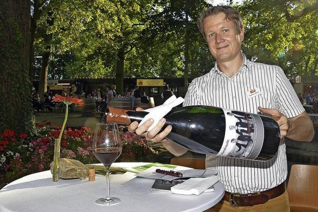 Statt Wein mehr Wasser