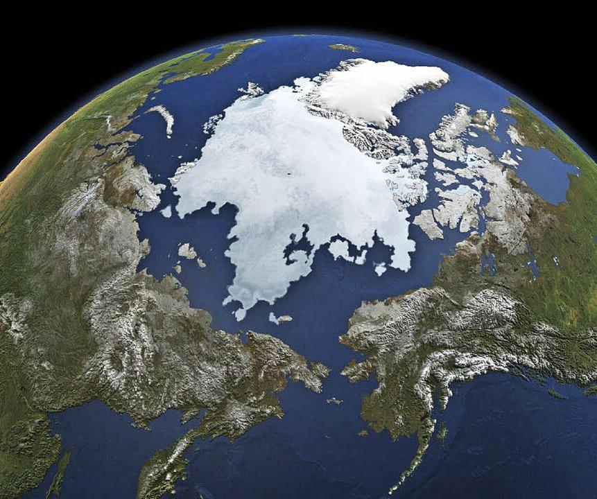 Blick auf das Arktis-Eis   | Foto: dpa