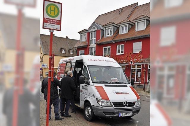 Mehr Geld für Bürgerbusse