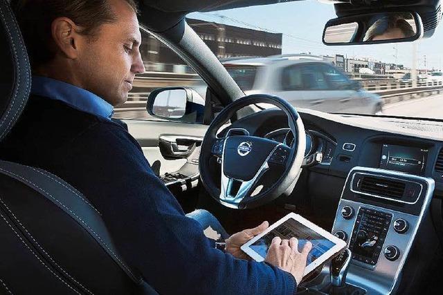 Versuche für automatisiertes Fahren auf der A9 beginnen
