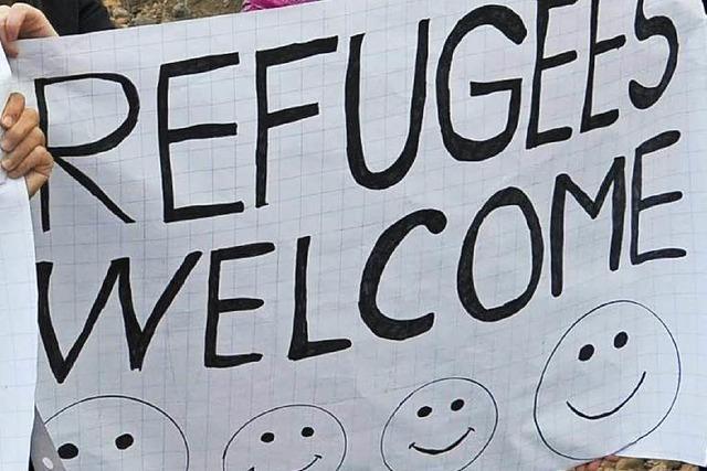 Flüchtlinge in Freiburg: Zeltstadt hat erste Bewohner