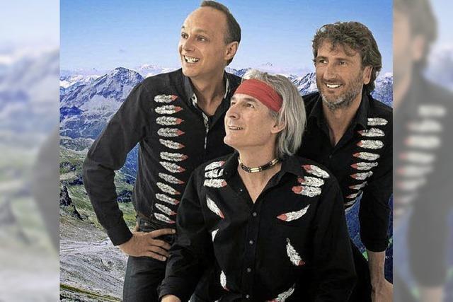 Die Südtiroler Band Bergfeuer kommt nach Lahr