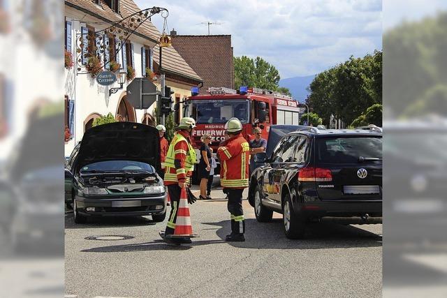 Ampelausfall: Zwei Unfälle an Kreuzung
