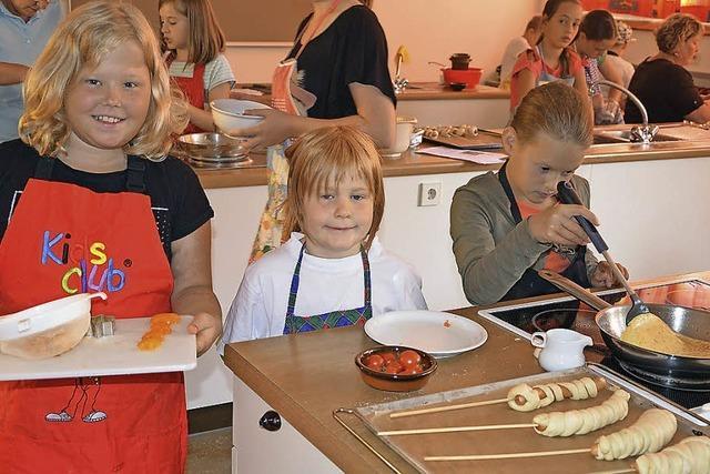 Kinder bekommen ganz schön was gebacken