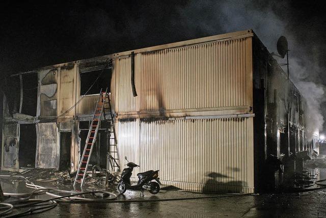 Sechs Verletzte bei Brand in Asylbewerberheim in Rottenburg