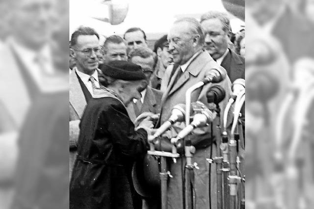 Als Adenauer die letzten Gefangenen heimholte