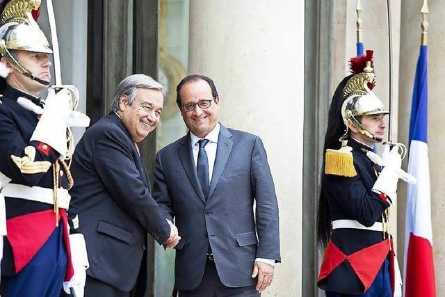Syrien- und Flüchtlingspolitik: Frankreich geht auf EU zu