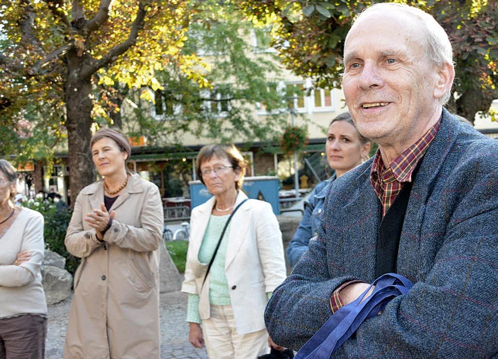 Zurück aus dem Ruhestand: Herwig Popke...terkünfte in Schopfheim und Maulburg.   | Foto: Danielle Hirschberger