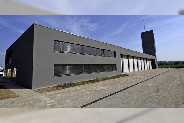 Feuerwehrgerätehaus wird eingeweiht - Vorzeigeobjekt mit Modellcharakter