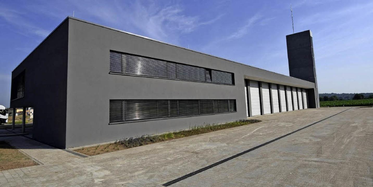 Das neue Feuerwehrgerätehaus in Kenzin...Wochenende aber offiziell eingeweiht.   | Foto: Feuerwehr