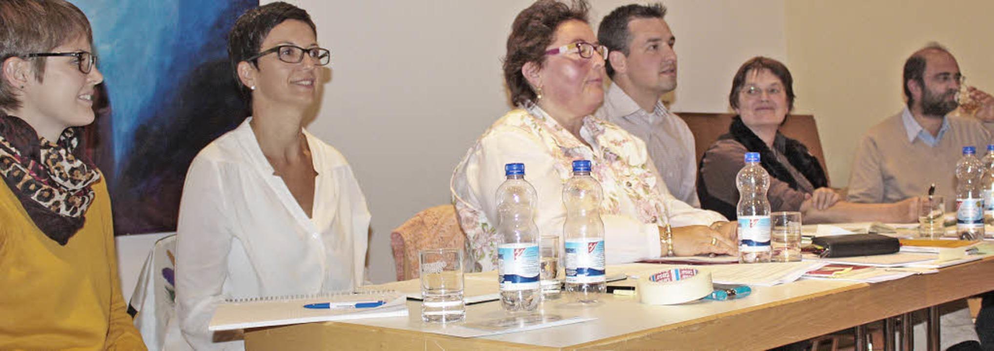 Standen Rede und Antwort (v.li.): Tanj...t, Ruth Reinhard und Thomas Schwarz.    | Foto: Dorothée Kuhlmann