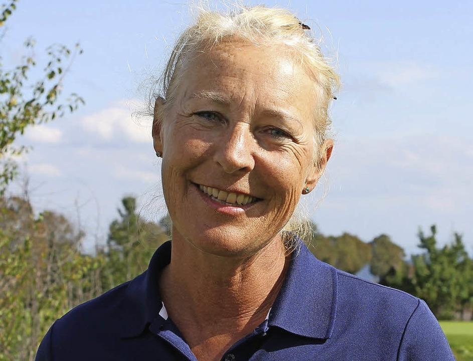 "Kathrin Morf gelang  ein ""Hole in One"".     Foto: Golfclub obere Alp"