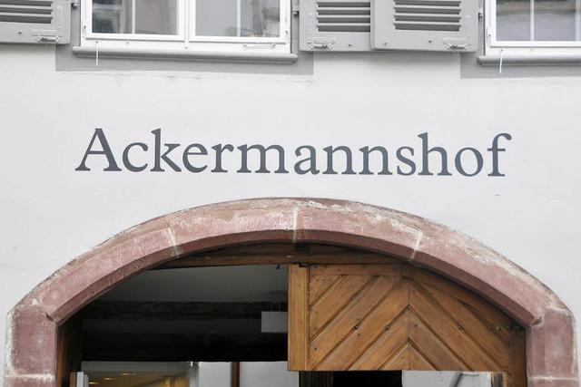 Der Ackermannshof lädt zum Hausfest