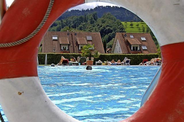 Sommer bringt Badegäste ohne Ende