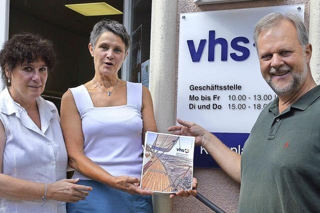 VHS nimmt Kurs aufs neue Semester