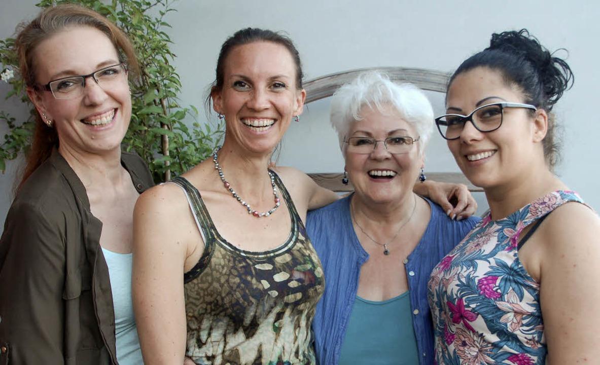 Die Initiativgruppe des Nachwuchs-Chor... fehlt auf dem Bild Nathalie Leypold.     Foto: Petra Wunderle