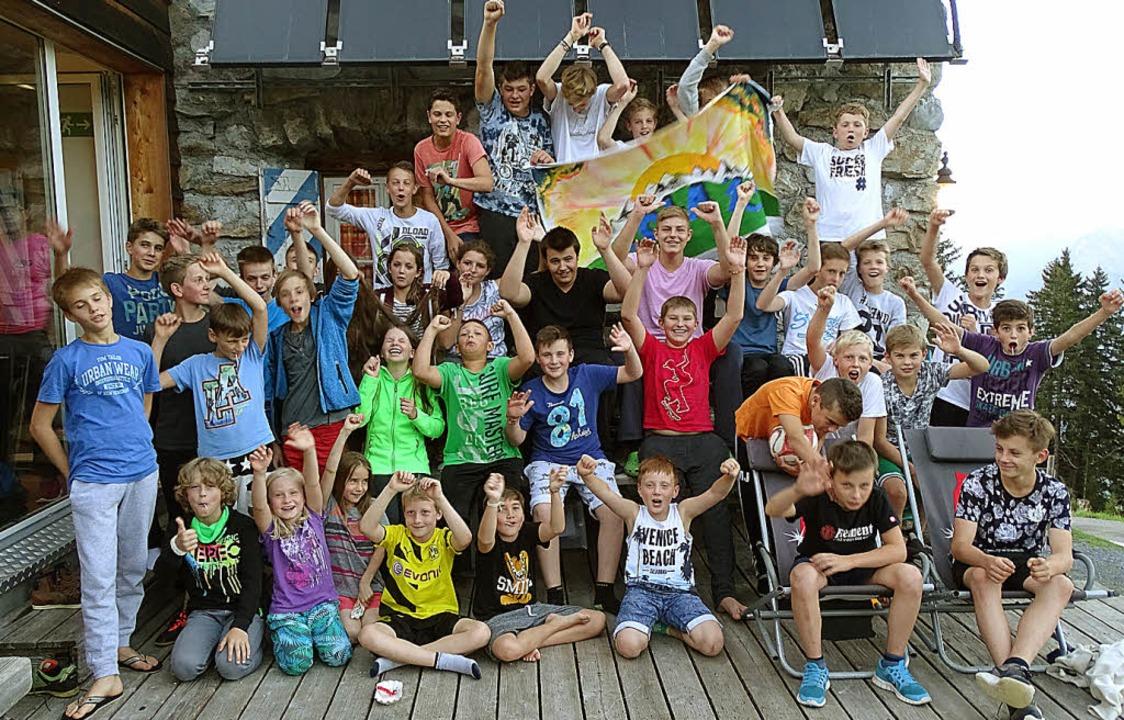 Gute Laune hatten Betreuer und Teilnehmer des Sommerlagers der KJG Wittnau.  | Foto: privat