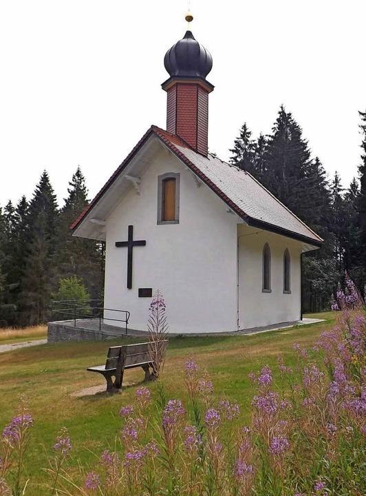 Ein Schmuckstück am Wegesrand ist die 1026 Meter hoch gelegene Ödlandkapelle.   | Foto: Wolfgang Adam