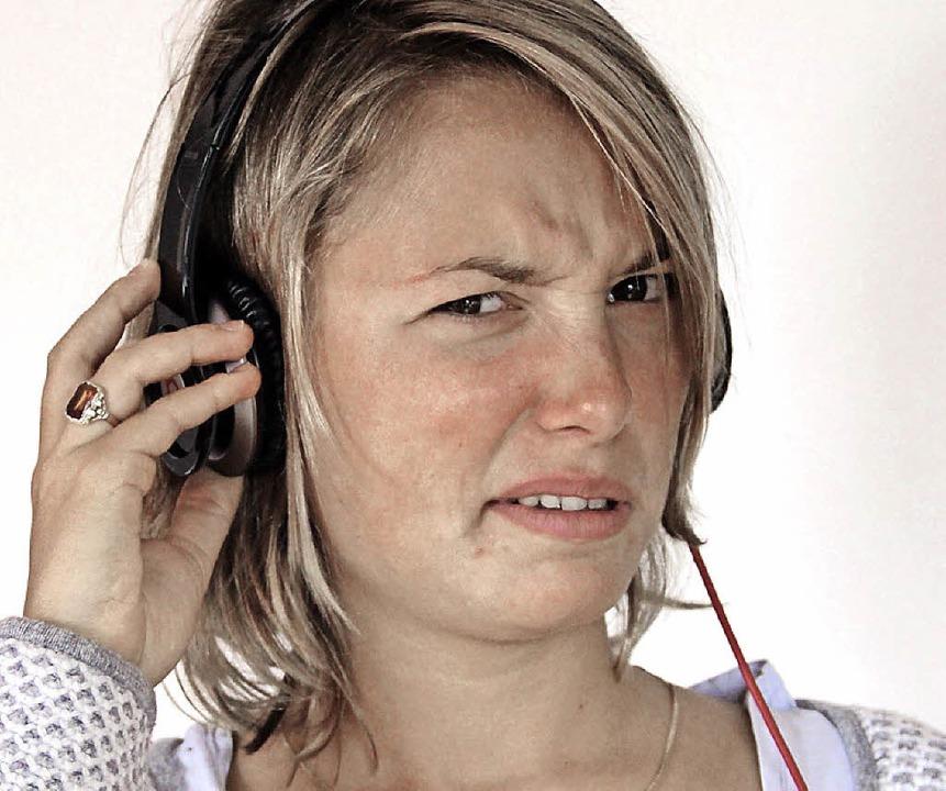 Was in Kathrin Kopfhörern läuft, besteht keinen Coolness-Check.   | Foto: Marius Buhl