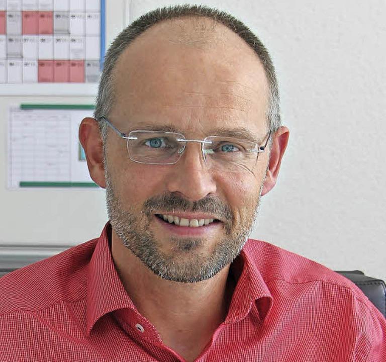 Neuer stellvertretender Schulleiter:  Bernd Rieckmann    Foto: Kanele