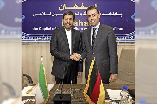 Nils Schmid besucht Freiburgs Partnerstadt Isfahan