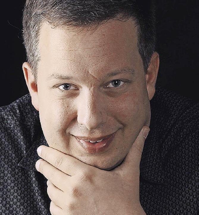 Komponist, Interpret: der Organist Gereon Krahforst    Foto: Pro