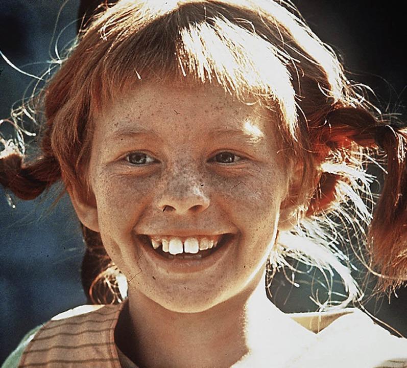 Rote Zöpfe: Pippi Langstrumpf im Film  | Foto: Pressens_Bild